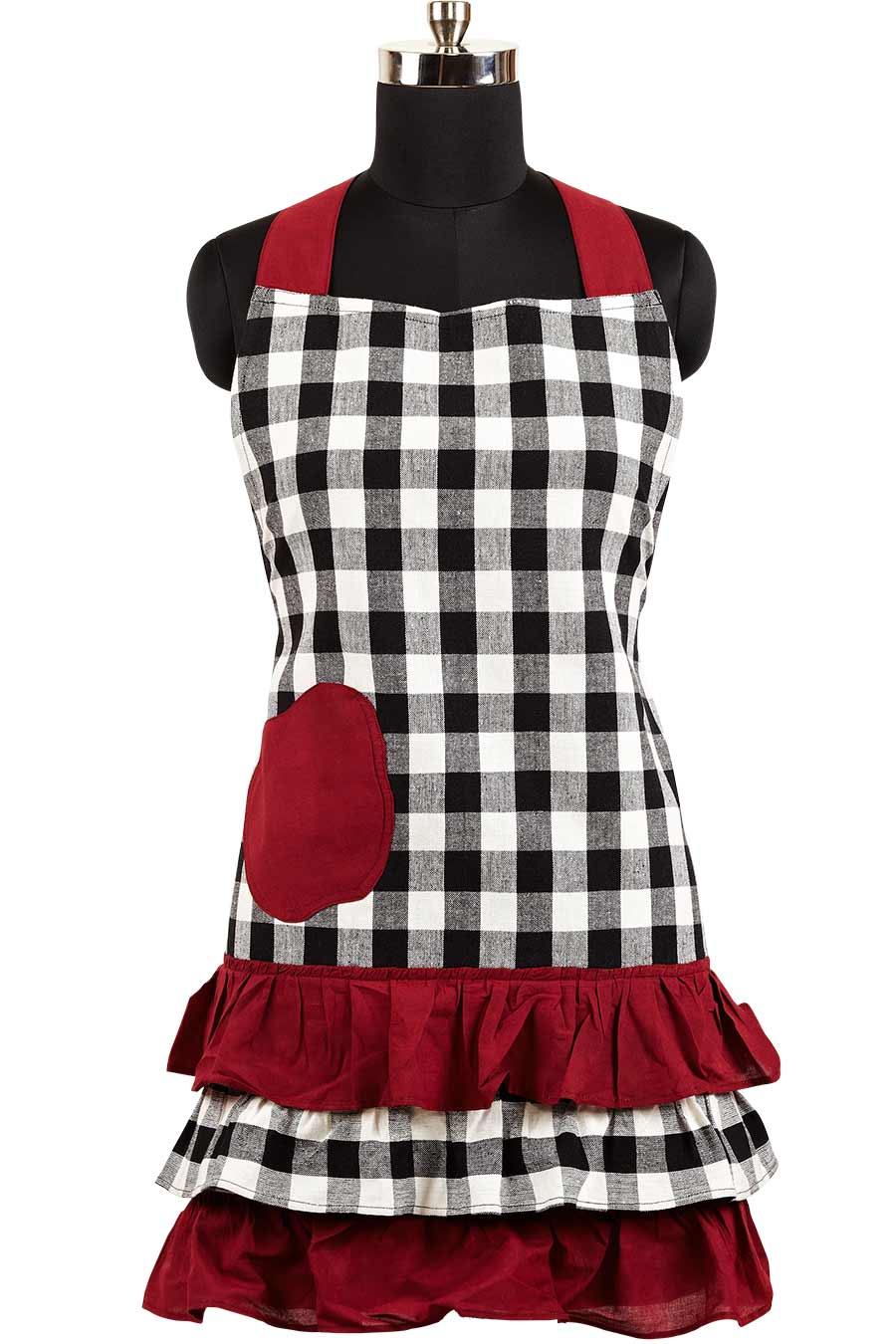 Apple Harvest Ruffled Apron