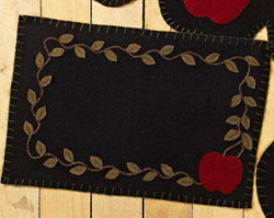 Apple Harvest Felt Placemats (Set of 2)