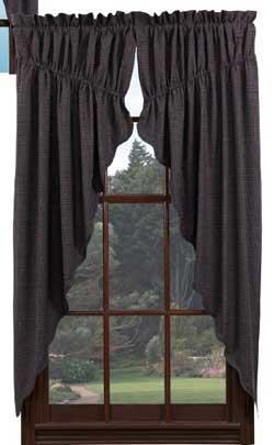 VHC Brands (Victorian Heart) Arlington Prairie Curtain (63 inch)