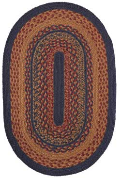 Arlington Jute Rug - Oval (Multiple Size Options)