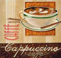 Cappuccino Art Tile