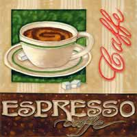 Espresso Art Tile