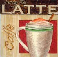 Latte Art Tile
