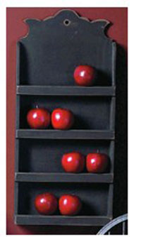 Black Spice Cabinet