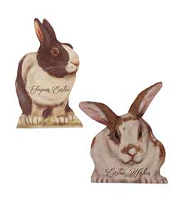 Mini Easter Bunny Dummy Boards (Set of 2)
