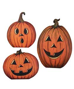 Pumpkin Patch Dummy Boards (Set of 3)