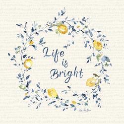 Life is Bright Lemons Coaster