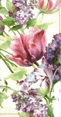 Elizabethan Garden Paper Guest Napkin