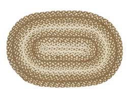 Oatmeal Oval Jute Rug (Multiple Size Options)