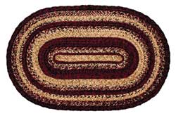 Radiance Oval Jute Rug (Multiple Size Options)