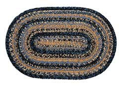 River Shale Oval Jute Rug (Multiple Size Options)