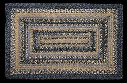 River Shale Rectangle Jute Rug (Multiple Size Options)