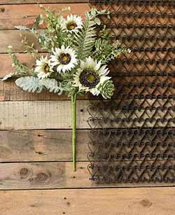 Sunflower & Succulent Bush
