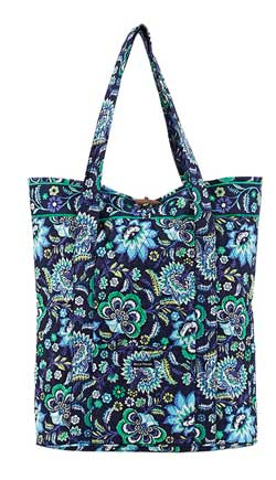 Baja Blue Carry All Travel Tote