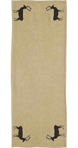 Barrington Burlap Tablerunner - 36 inch
