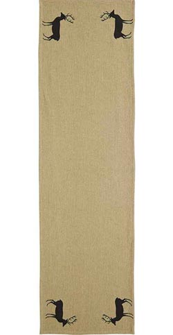 Barrington Tablerunner - Burlap (48 inch)