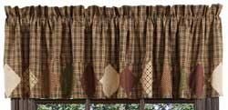VHC Brands (Victorian Heart) Barrington Valance with Border