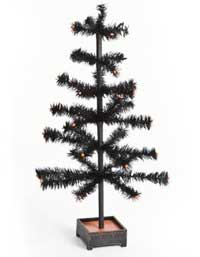 Black Feather Tree, 24 inch