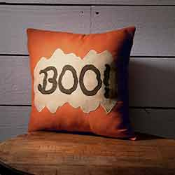 Boo Pillow (12x12)