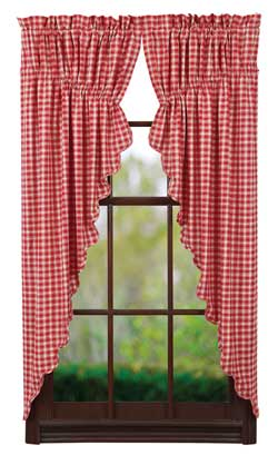 Breckenridge Prairie Curtain (63 inch)