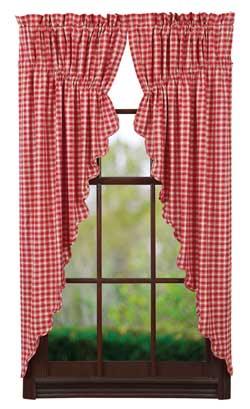 VHC Brands Breckenridge Prairie Curtain (63 inch)