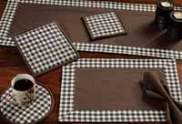 Brownstone Check Table Runner (36 inch)