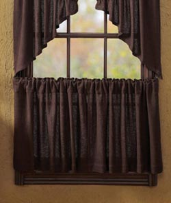 Burlap Brown Tier - 24 inch