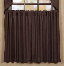Burlap Brown Tier - 36 inch
