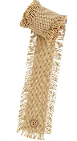 Burlap Natural Garland / Ribbon (12 feet)