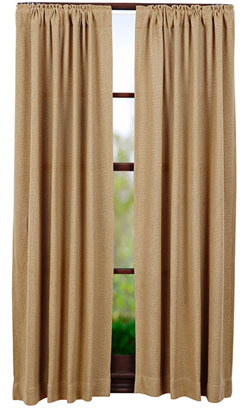 VHC Brands Burlap Natural Panels (63 inch)