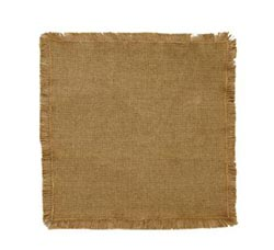 Burlap Natural Tablemat - 13 inch