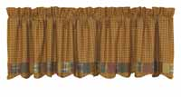 Burlington Bordered Valance