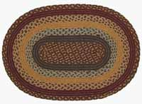 Burlington Jute Rug - Oval (Multiple Size Options)