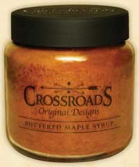 Buttered Maple Syrup Jar Candle - 16 ounce