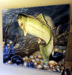 Fish Art Tile