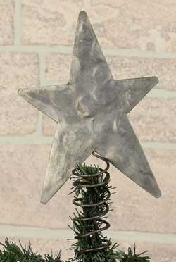 Metal Star Tree Topper