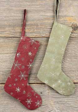 Snowflake Stocking Ornament