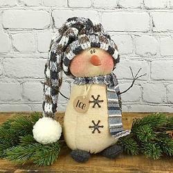 Ice the Snowman Doll