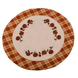 Little Pumpkin Vine Candle Mat