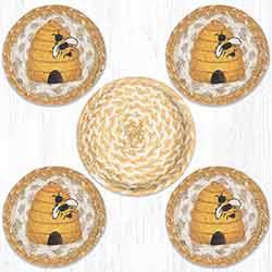 Beehive Coaster Set