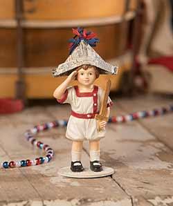 I Pledge Allegiance Boy Figurine