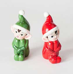 Elf Salt & Pepper Shaker Set