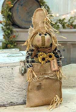 Primitive Randy Scarecrow Doll