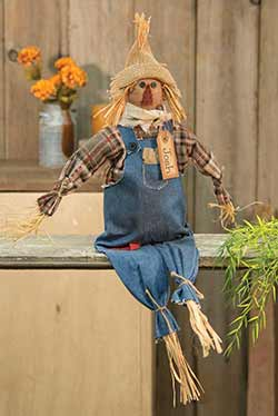Primitive Josh Scarecrow Doll
