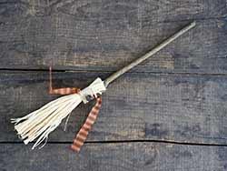 Small Straw Broom