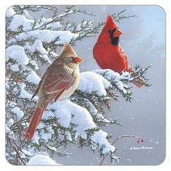 Cardinals & Cedar Coaster
