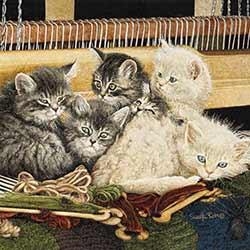 Loom Kittens Coaster