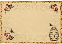 Cambrie Lane Bee Placemats (Set of 2)