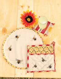 Cambrie Lane Pot Holder with Pocket
