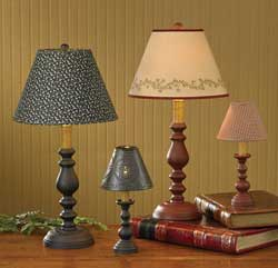 Candlestick Lamp - Black (23 inch)